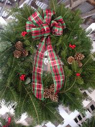 christmas trees wreaths and holiday decor in bethlehem nh