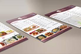 restaurant menu design and print logo print