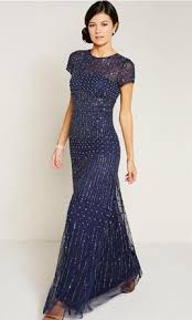 papell dress papell sleeve fully beaded gown size 16