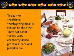 Thanksgiving Traditional Meal Thanksgiving Powerpoint