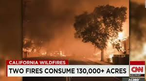 Wildfire Cali by California Wildfires Burn Hundreds Of Homes Cnn