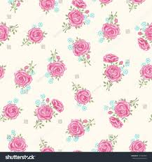 shabby chic wrapping paper shabby chic pattern floral seamless stock vector 127242890