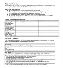 sample project planning template