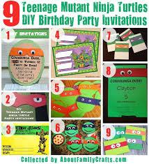 75 diy teenage mutant ninja turtles birthday party ideas u2013 about