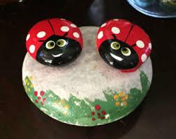Ladybug Desk Accessories Ladybug Paperweight Etsy