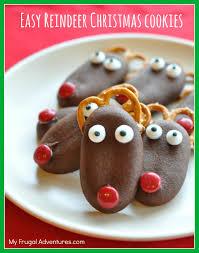 quick u0026 easy reindeer christmas cookies my frugal adventures
