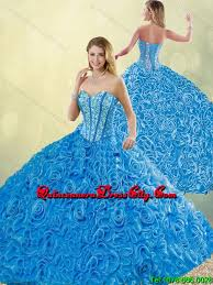 blue quinceanera dresses new style blue quinceanera dresses with brush for 2016 214 36
