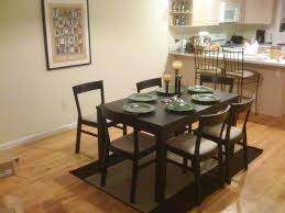 ikea black brown dining table floor dining table ikea homes floor plans