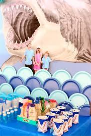 shark and mermaid party shark party wall mural kids swim