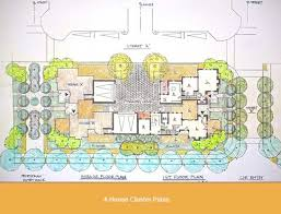 cluster house plans arnold mammarella housing design consulting small block 4