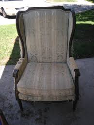 chairs white color tall wingback chair queen anne style fresh