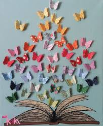 Butterfly Decorations For Christmas Tree by Invitation To Create Fall Sticky Trees Paper Cutting English
