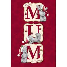 mum mummy stepmum me to you bear christmas cards ebay