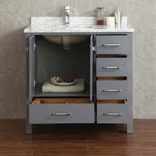 36 inch bathroom cabinet bathroom beachcrest home caldwell 36 single bathroom vanity set