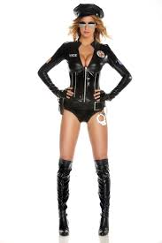 Deluxe Womens Halloween Costumes Officer Deluxe Women Police Costume 66 99