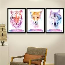 fox home decor wall decor wall decor posters cozy wall decor posters retro