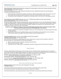 Cio Sample Resume Sample Resume For Construction Accountant Augustais