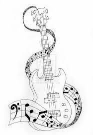 Bass Guitar Tattoo Ideas 125 Best Guitar Images On Pinterest Guitar Tattoo Music Tattoos