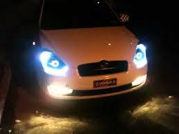 hyundai accent lights 07 hyundai accent custom headlights