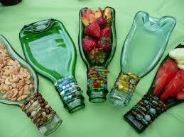 melted wine bottle platter melted wine bottles for sarving tray pinteres
