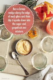 rosemary grapefruit spritzer the chic site