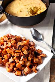 sweet potato thanksgiving dish bourbon butter sweet potatoes the speckled palate