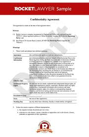 standard non disclosure agreement template uk best resumes