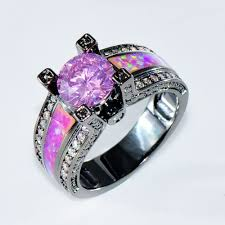 black opal engagement rings amazing black opal engagement rings trulagreencom pict of trend