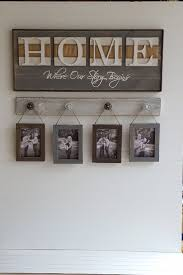 rustic home sign home where our story starts country decor