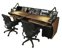 Studio Desk Furniture by Ld Series Monitoring Command Desks Middle Atlantic