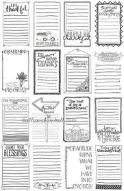 free journaling pages printables journaling journals and