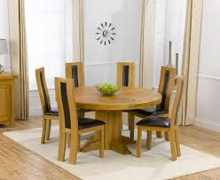 solid oak dining table and 6 chairs stompa uno s plus single chair bed round pedestal dining table