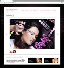 Website For Makeup Artist Corporate Website Design And Development For Naturodemix Make Up
