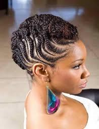 black women hair braiding styles american half up and half down