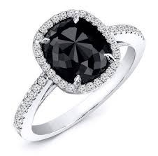 black stones rings images Wedding rings with black stones image of wedding ring enta jpg