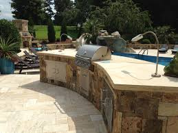 Backyard Bbq Grills by Outdoor Kitchens U0026 Grills Rising Sun Pools And Spas