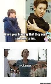 I Volunteer Meme - my reaction exo pinterest exo k pop and memes