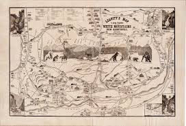 Marietta Ohio Map by Charming Piracy Of The Carrigain Map Of New Hampshire Rare
