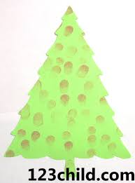 Paper Christmas Tree Crafts For Kids Xmas004 Jpg