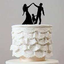family wedding cake toppers family wedding cake topper groom girl