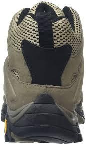 merrell men u0027s moab mid gore tex high rise hiking boots amazon co