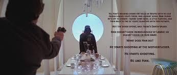 Han Shot First Meme - be like han repost rebrn com