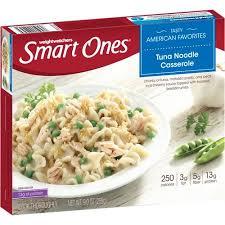 cuisine weight watchers weight watchers smart ones tuna noodle casserole 9 oz walmart com
