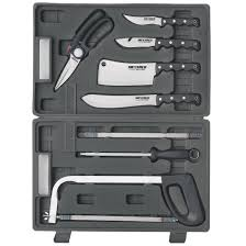 meyerco 8 pc game processing kit 137853 field care knives at