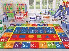 Abc Area Rugs Kev Oper Playtime Abc Numbers And Shapes Educational Area Rug