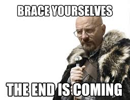Breaking Bad Finale Meme - the end is coming justpost virtually entertaining