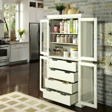 storage cupboard kitchen tall cabinet with drawers pantry slim