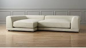 Uno Creamwhite Piece Sofa CB - Puff sofa 2