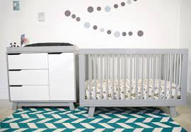 Convertible Cribs With Storage by Bedroom Grey Crib By Babyletto On Chevron Carpet Plus White