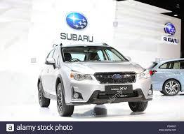 subaru car 2015 bangkok december 1 subaru xv 2 0 i p car on display at the